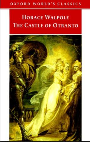 The Castle of Otranto novel by Horace Walpole released