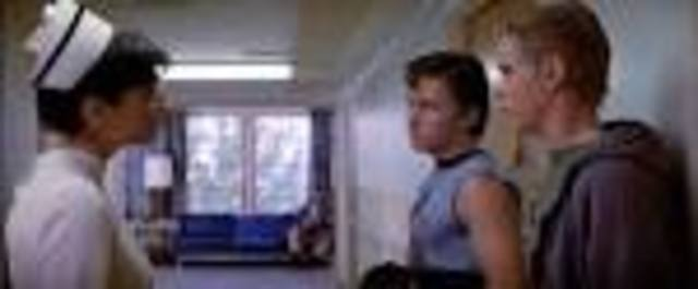 Dally and Johnny was sent to the hospital, Ponyboy was worried about Johnny