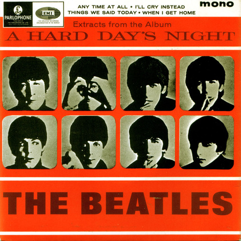 The Beatles short film: A Hard Day's Night