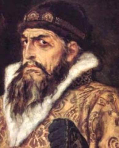 ИВА́Н IV Васильевич Грозный