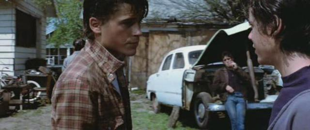 Ponyboy argued with Darry; Pony slept with Soda at night(2)