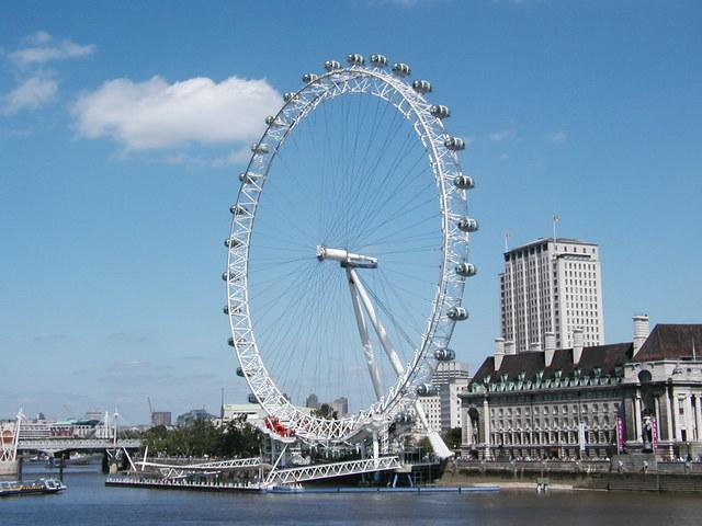 bouw london eye