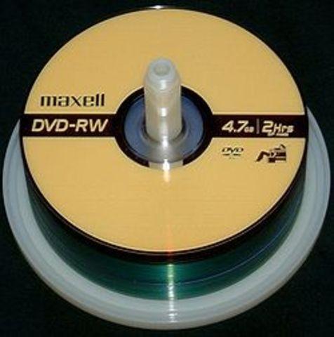 "DVD-RW ""Regrabable"""