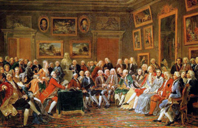 Gabriel Lemonnier peint l'abbé Raynal