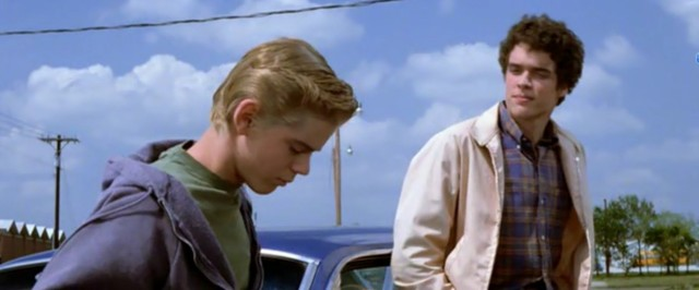 Ponyboy's first meet with Randy(1)