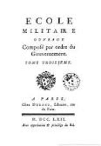 Publication de l'Ecole militaire