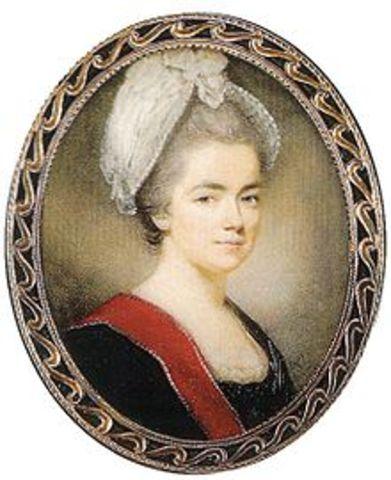 Dîner à Paris en honneur à la princesse Dachkova