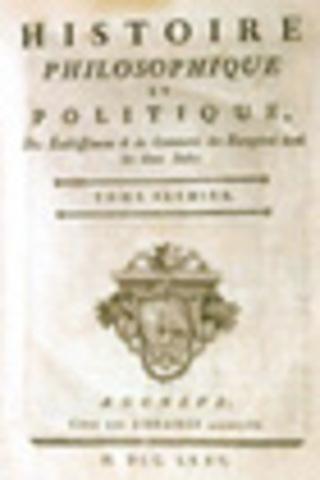 Seconde édition de l'Histoire des deux Indes