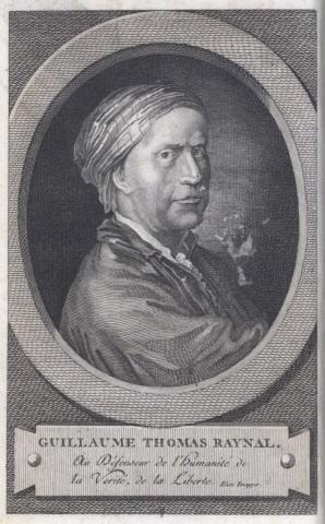 Mort de l'abbé Raynal