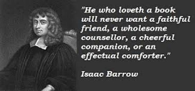 Barrow publishes Lectiones geometriae