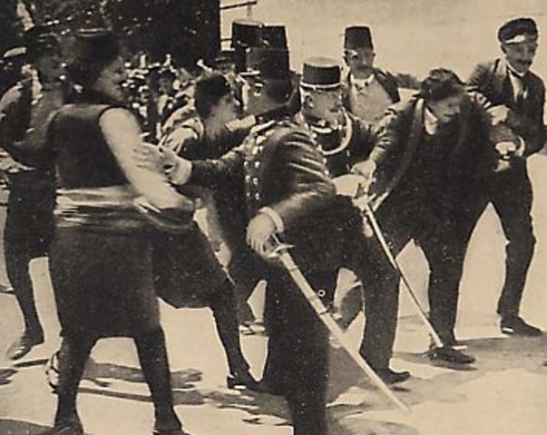 Assassinat d'un archiduc à Sarajevo