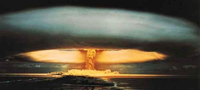 Une bombe atomique sur Hiroshima !