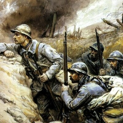La première Guerre Mondiale timeline