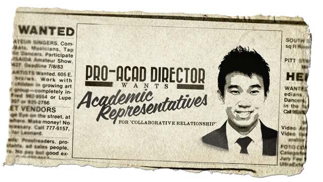Introduction of Academic Representatives