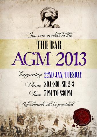 The Bar Annual General Meeting 2013
