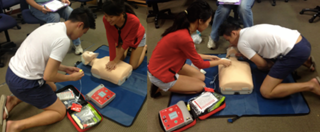 CPR/AED Certification of The Bar