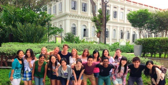 Inaugural International Exchange Student Excursion Trip
