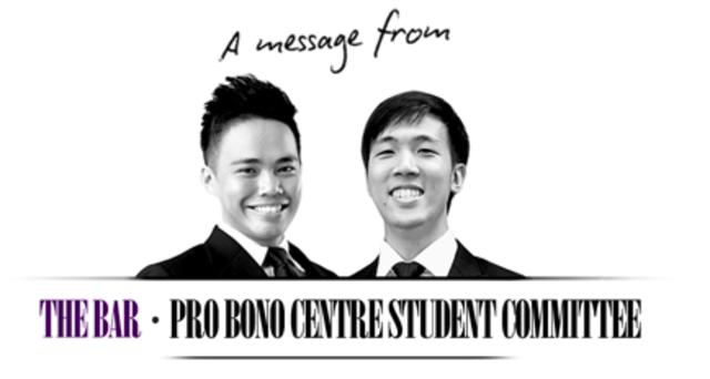 Subsumption of Pro Bono Executive Committee under Pro Bono Centre