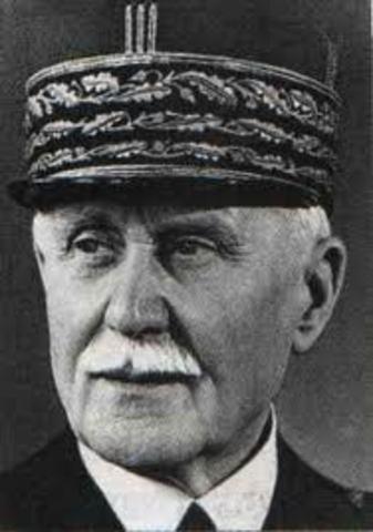 Pleins pouvouirs au Maréchal Pétain