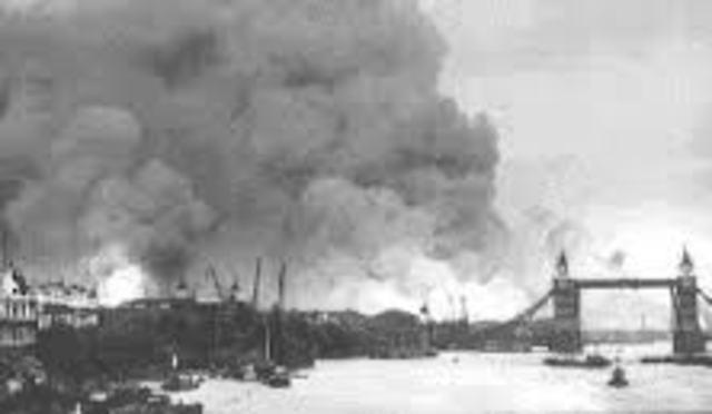 Le Blitz : Londres sous les bombes