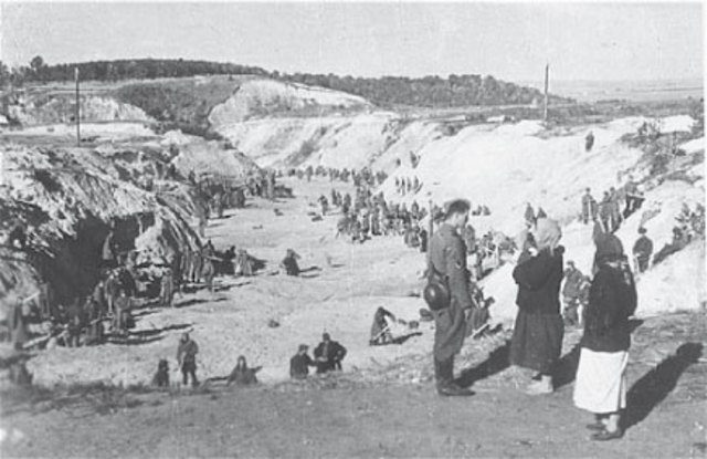 Le massacre de Babi Yar