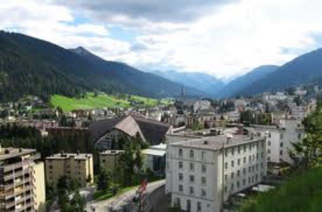 Declaración de Davos (Davos, Suiza)
