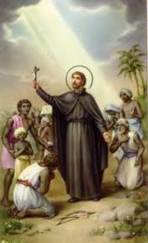 Saint Francis Xavier Arrives in Japan