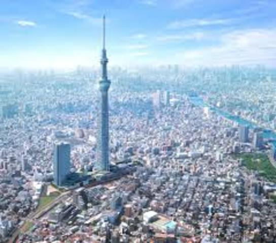 Edo Established as Capital of Japan