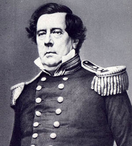 Commodore Matthew Perry Arrives in Tokyo