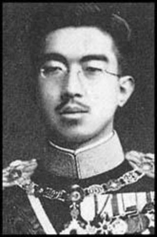 Emperor Hirohito Begins His Rule