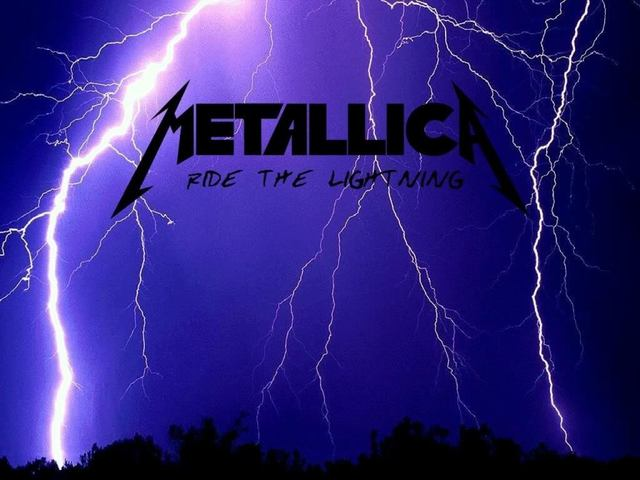 """Release of """"Ride the Lightning"""""""