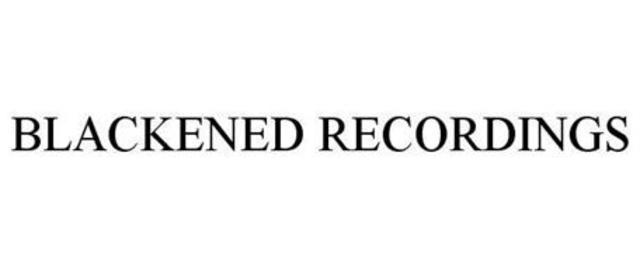 Announced Name of New Independent Label: Blackened Recordings