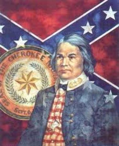 Civil War ends in Indian Territory