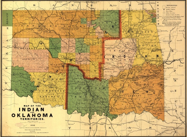 Indian Territory Population
