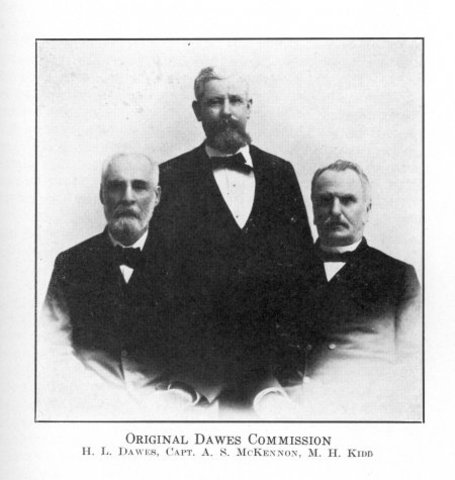 Five Tribes: Dawes Commission (General Allotment Act)
