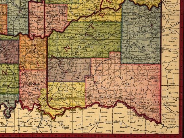Choctaw and Chikasaw Vigilantes Resort to Violence and Drive out Blacks