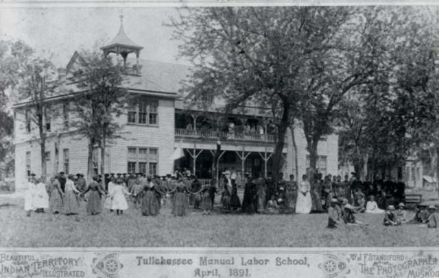 Tullahassee Manual Labor School: Creek Freedman School