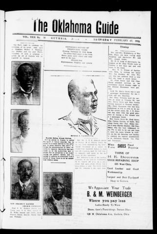 First African American Newspaper Oklahoma Guide