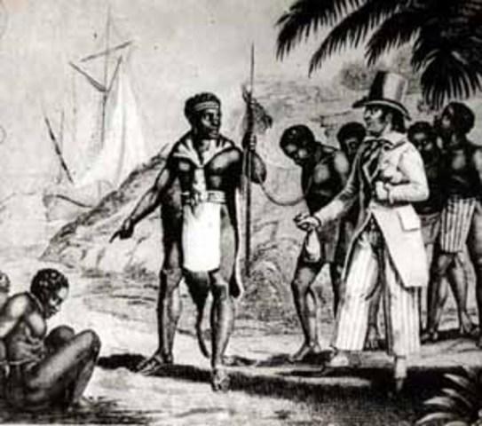 Cherokee First Observe Slavery