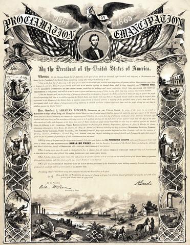 Cherokee Emancipation of Slaves