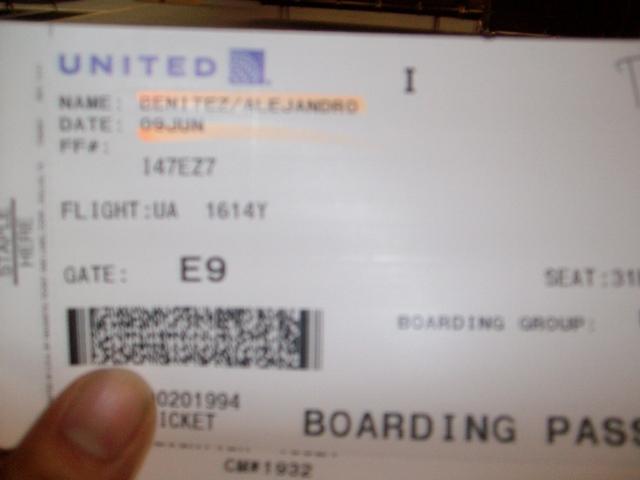 Arrive in Ecuador