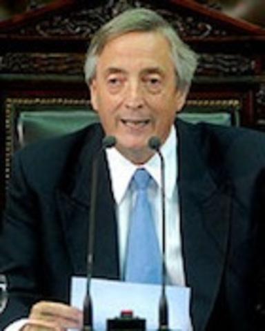 Presidencia de Néstor Kirchner(2003-2009)