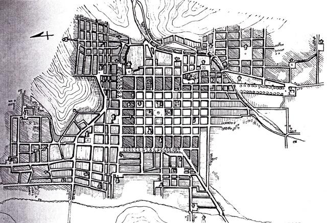 Evolución de la Ciudad de Santiago
