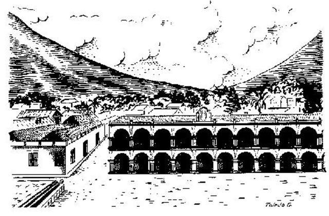 Fundación de la Ciudad de Santiago de los Caballeros.
