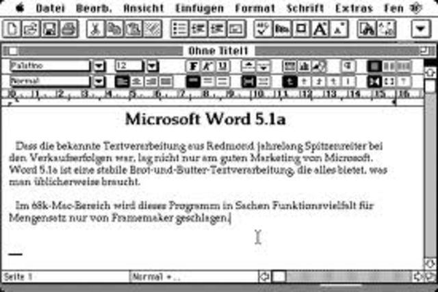Microsoft lança Windows e Word para Macintosh