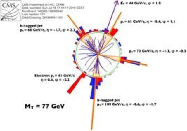 Se encuentra el quark top