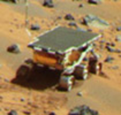 La misión Pathfinder explora Marte