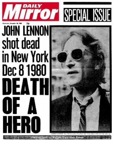 John Lennon es asesinado