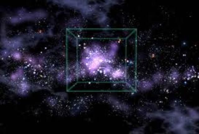 Se encuentra la Gran Muralla de galaxias