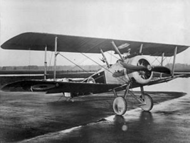 Sopwith Camel first flown